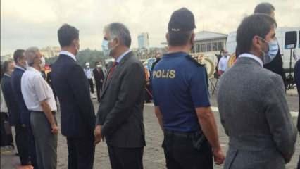 CHP'li Başkan Ali Narin'den 30 Ağustos Zafer Bayramı töreninde skandal hareket!