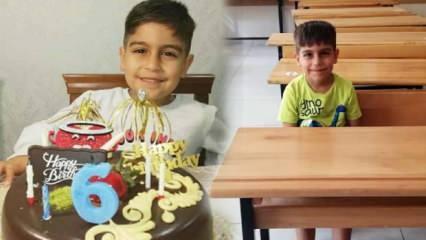 Gaziantep'te üzerine gardrop devrilen 6 yaşındaki Mustafa hayatını kaybetti