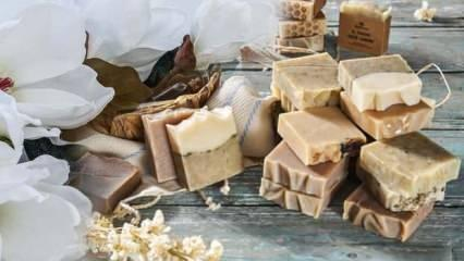 Keçi sütü sabunu ne işe yarar? Keçi sütü sabunu yüze faydaları...