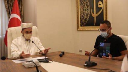 Müslüman arkadaşlarından etkilenen Alman vatandaşı İslamiyet'i seçti