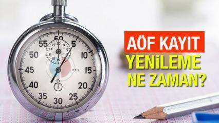 AÖF güz dönemi kayıt yenileme ne zaman? 2021 Anadolu Üniversitesi sınav ve kayıt takvimi açıklandı!