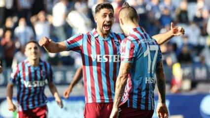 Bakasetas attı Trabzonspor kazandı!