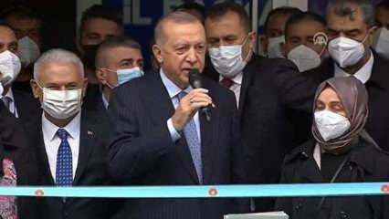 Cumhurbaşkanı Erdoğan: Yeni bir dönemin adresi olacak