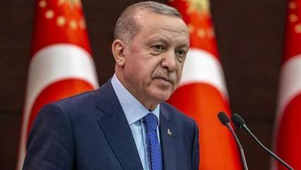 Cumhurbaşkanı Erdoğan Bakü'nün işgalden kurtuluş yıl dönümünü kutladı