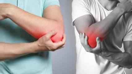 Dirsek ağrılarına dikkat! Sakın ihmal etmeyin