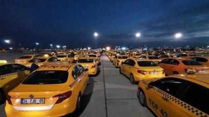 81 ile yeni taksi genelgesi gönderildi! Trafikten men edilecekler