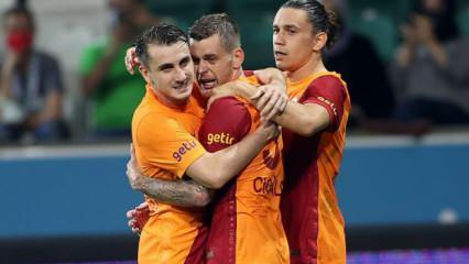 Galatasaray'ın Kayserispor kadrosu açıklandı!