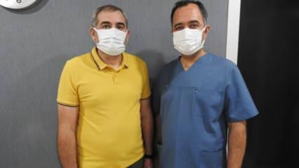 Gürcistanlı hasta haftalardır yemek yiyemiyordu, sağlığına Türkiye'de kavuştu
