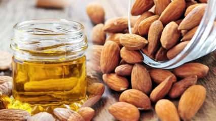 Tatlı badem yağının cilde faydaları nelerdir? Tatlı badem yağı cilt lekelerine iyi gelir mi?