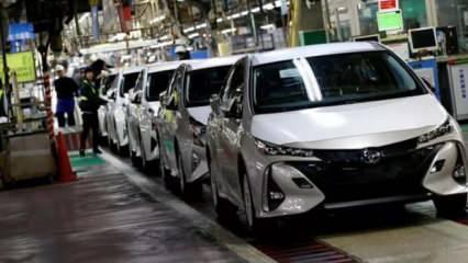 Toyota'da tedarik krizi! 27 bantta üretim duracak