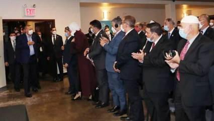 Erdoğan, ABD'deki Müslüman toplumun temsilcileriyle görüştü