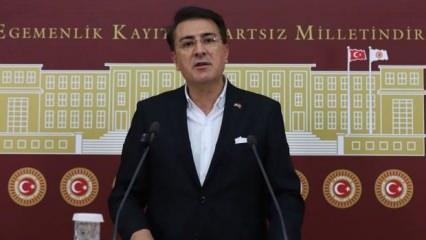"""AK Parti'den Çeviköz'e """"Mavi Vatan"""" tepkisi: Sefir değil sefil!"""