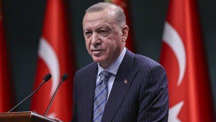 Başkan Erdoğan'dan yurt sayısı cevabı