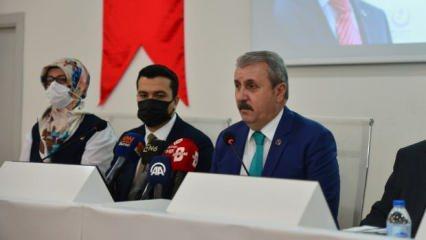 BBP Genel Başkanı Destic: HDP'yle iş birliği demek PKK'yla iş birliği demektir