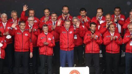 Cumhurbaşkanı Erdoğan'dan heyecanlandıran TOGG açıklaması