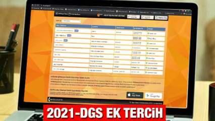 DGS ek tercih ne zaman? 2021 ÖSYM Ön lisans bölümlerinden lisansa geçiş yapacaklar için...