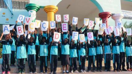 Dünyanın çocukları Maarif'le Türkçe öğreniyor