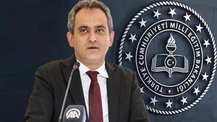 Milli Eğitim Bakanı Özer'den son dakika yüz yüze eğitim açıklaması...