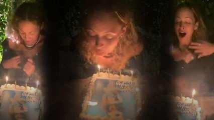 Nicole Richie'nin doğum günü felakete döndü! Ünlü yıldızın mumları üflerken saçları tutuştu...