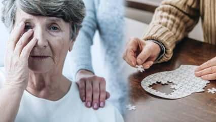 Sinsice ilerleyen ve kadınlarda daha sık görülen Alzheimer hastalığına dikkat!
