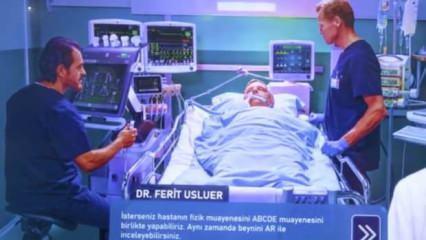 Teknofest'te sergilendi! İşte Türkiye'nin sanal hastanesi
