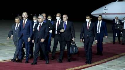 Ticaret Bakanı Mehmet Muş, Erbil'de iş insanlarıyla bir araya geldi