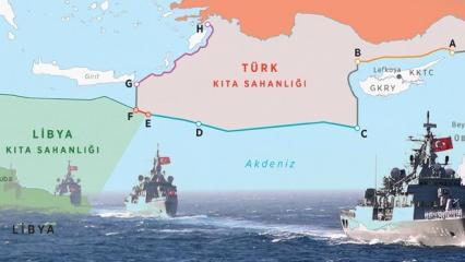 TSK, Doğu Akdeniz'de çizgiyi çekti! Yunan medyası: Eşi görülmemiş bir meydan okuma
