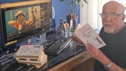 Ünlü Brezilyalı yazar son kitabını Mete Gazoz'a adadı