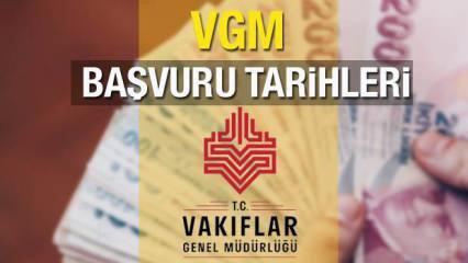 VGM burs başvuruları ne zaman? 2021 Tarih belli oldu! Yeni yılda burs ücretleri...
