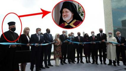 Erdoğan'la Türkevi'ni açan başpiskoposa, Yunanistan ve Güney Kıbrıs'tan tepki