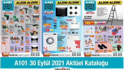 A101 30 Eylül Perşembe Aktüel Katalog Ürünleri! Züccaciye, elektronik, tekstil ürünlerinde..