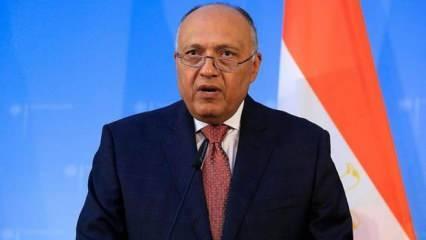 Mısır Dışişleri Bakanı'ndan Türkiye açıklaması: İlişkiler gelişme gösteriyor