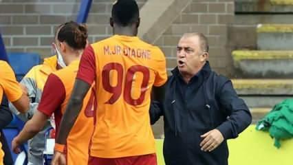 Fatih Terim'den Mbaye Diagne kararı!