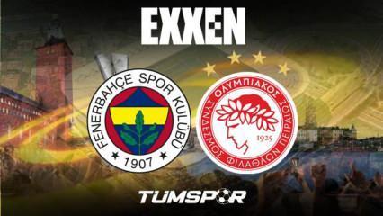 Fenerbahçe Olympiakos maçını veren yabancı kanallar! FB Avrupa Ligi maçı şifresiz nasıl izlenir?