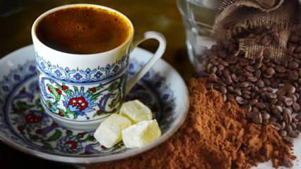Her gün 1 fincan Türk kahvesi içmenin faydaları nelerdir? Sade Türk kahvesi faydaları...