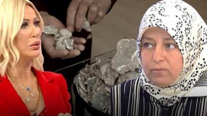 Günde 2 kilo inşaat molozu yiyen kadın yok artık dedirtti! Seda Sayan şaştı kaldı...