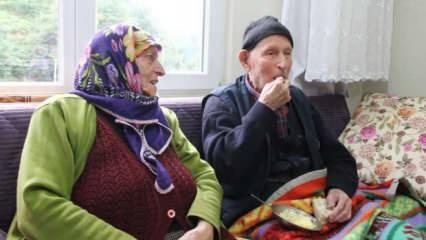 110 yaşındaki Dursun Ali amca uzun ve sağlıklı yaşamın sırrını anlattı! Her gün 1 kaşık...