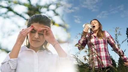 Sonbaharda mevsimsel göz alerjisine dikkat!