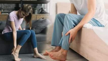 Huzursuz bacak sendromuna dikkat: Başka hastalıklar ile karıştırılıyor