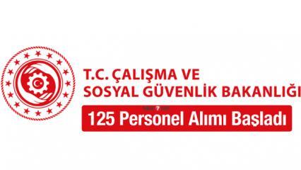 Çalışma ve Sosyal Güvenlik Bakanlığı 70 KPSS ile personel alımı devam ediyor!