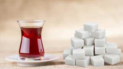Günde 3 bardaktan fazla çay içenler dikkat! Çaya iki şekerden fazla atıyorsanız...