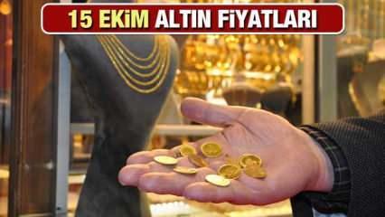 16 Ekim Altın Fiyatları Ne Kadar Oldu? Gram Altın, Çeyrek Altın, Bilezik Fiyatları