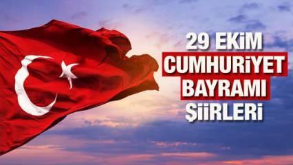29 ekim Cumhuriyet Bayramı en güzel şiirleri | 2 kıtalık 29 Ekim şiirleri...
