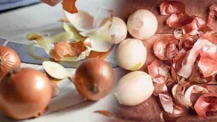 Soğan kabuğu suyunun faydaları nelerdir? Soğan kabuğu nasıl kullanılır?