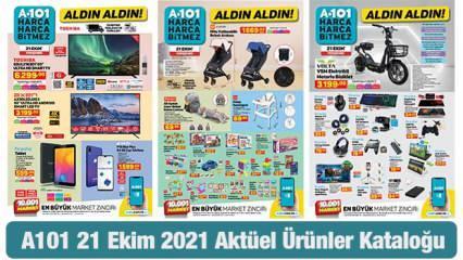 A101 21 Ekim Perşembe Aktüel Kataloğu! Termosifon, elektrikli bisiklet, züccaciye ürünlerinde..