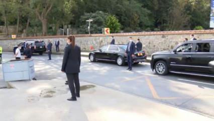 Başkan Erdoğan tesadüfen gördü! Konvoyu durdurdu