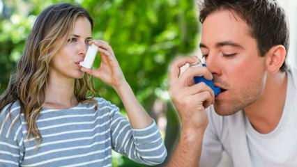 Enfeksiyona dikkat! Astım hastalığının başlamasına neden olabiliyor