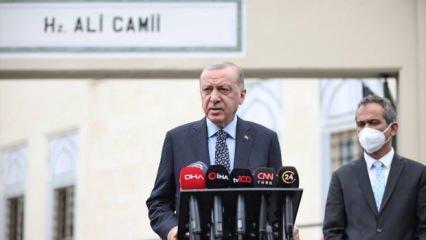 Erdoğan 'Kararlıyız' diyerek resti çekti! Sınır ötesi harekat için son dakika mesajı