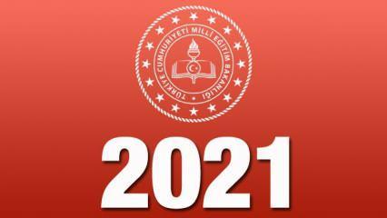 Okulların 1 haftalık tatile gireceği tarihler açıklandı! MEB 2021-2022 uygulama takvimi yayınlandı!