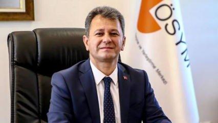 ÖSYM Başkanı Aygün'den Ankara paylaşımı